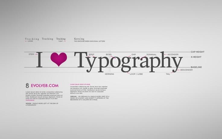 I <3 typography