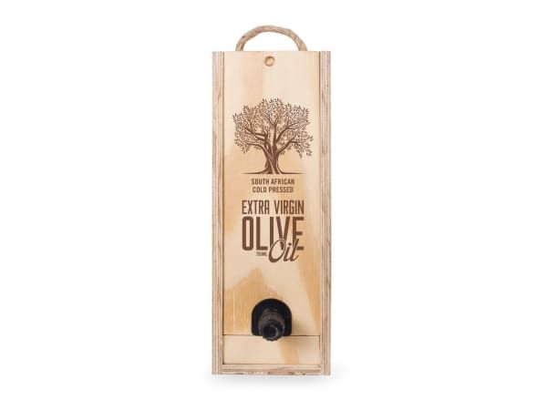 Buy The Olive Option Wooden Olive Oil Box - YCOO-02 - Naturalfor R439.00