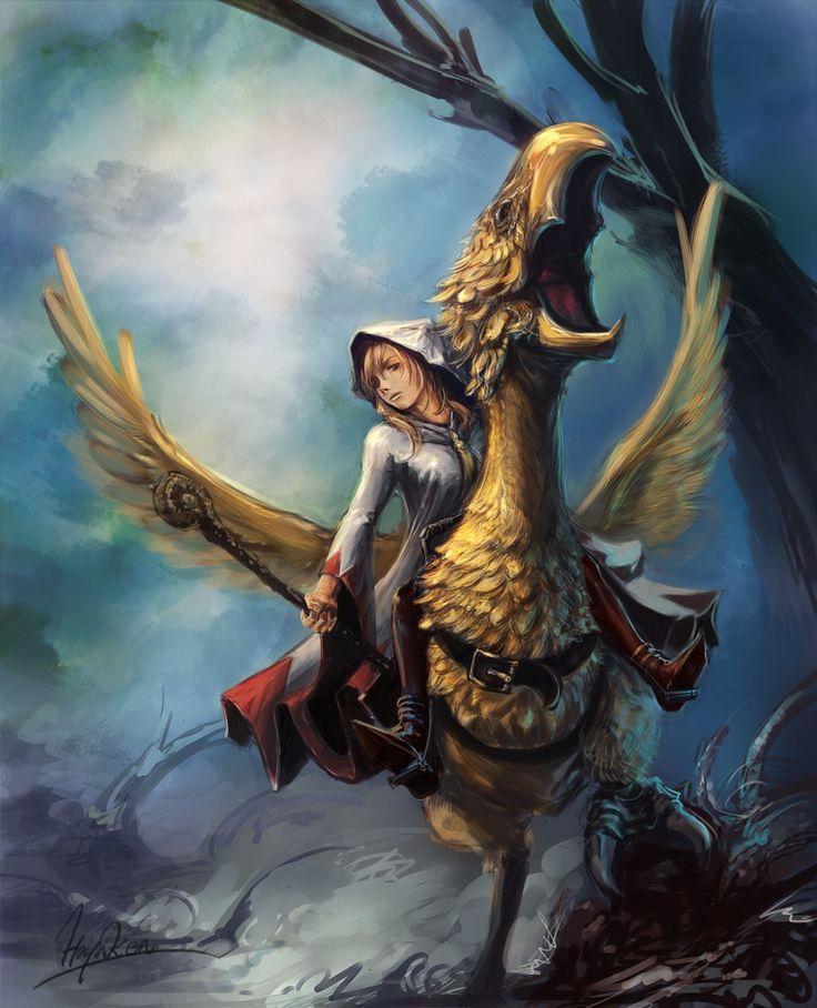 Predatory bird mount, from Final Fantasy Tactics