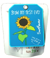 Grow My First Ever... - choose from 5 plant kits, a great educational and fun gift for children. £5.50