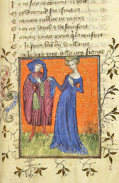Roman de la Rose, MS M.245 fol. 31r - Images from Medieval and Renaissance Manuscripts - The Morgan Library & Museum