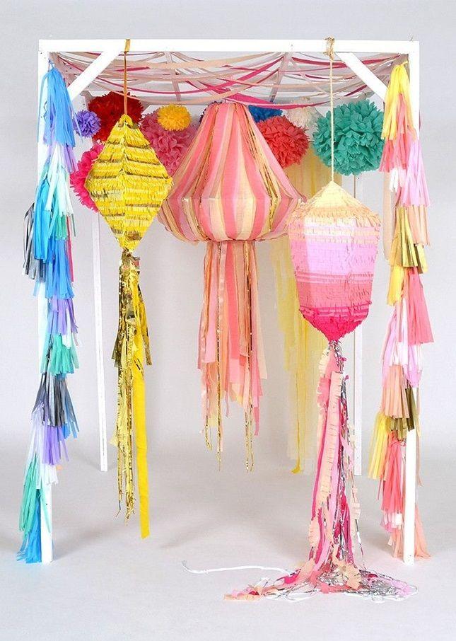 19 Wedding Piñatas You Can Buy, DIY + Be Inspired by via Brit + Co.