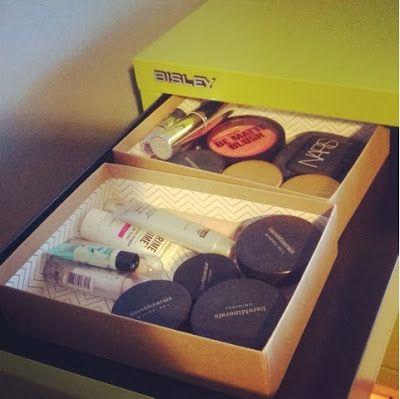 Prettier Wednesday: Bisley Cabinet Makeup Storage #bisley #bisleycabinets #polishedportland