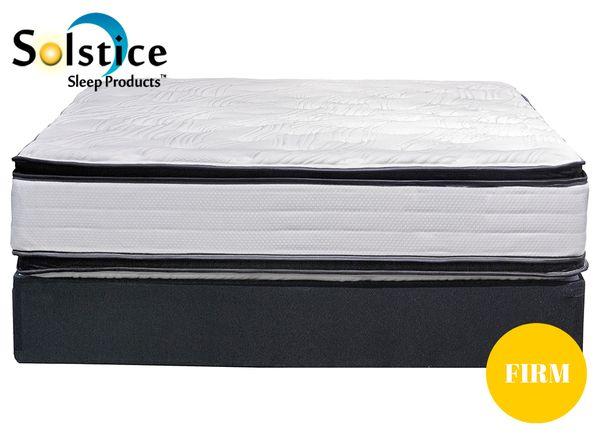 Solstice Regis 5 0 Plush Firm Pillow Top And