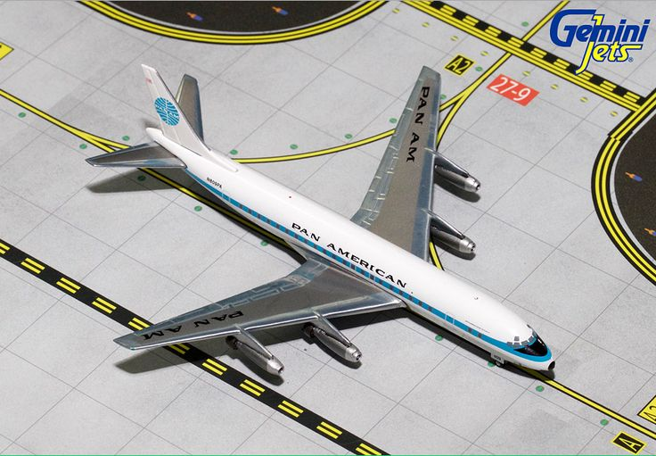 1/400 GeminiJets Pan Am Douglas DC-8-33 Diecast Model