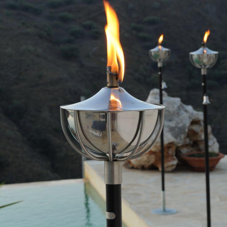 linternas de jardn jardn acutico muebles de jardn casa ideas ideas para ideas jardn antorchas garden torch aristo