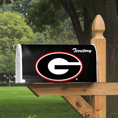 1695 Georgia Bulldogs Logo Mailbox Cover Ga Bulldogs