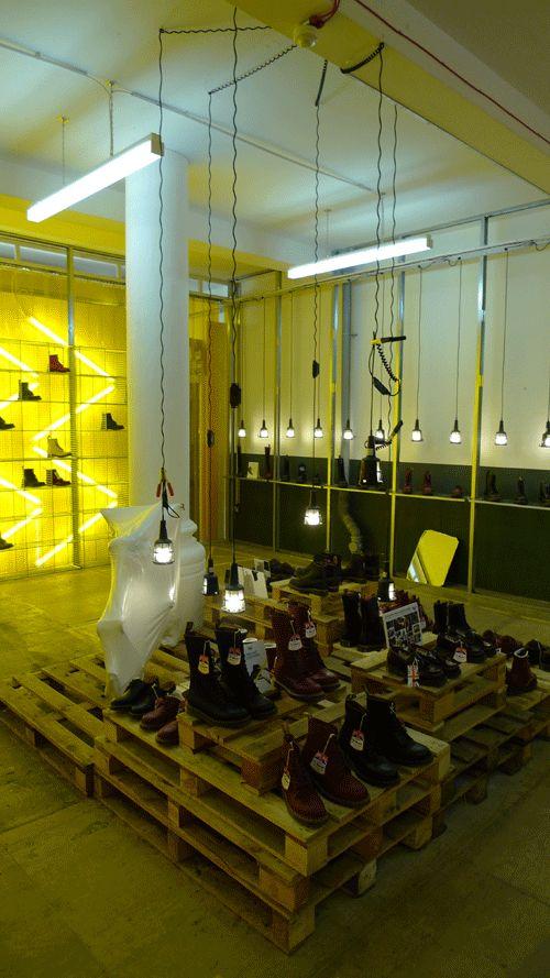 Dr Marten's Pop Up Shop, London