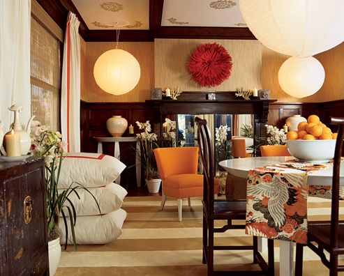 68 best decorating combination room images on pinterest for Combined living and dining room decorating ideas