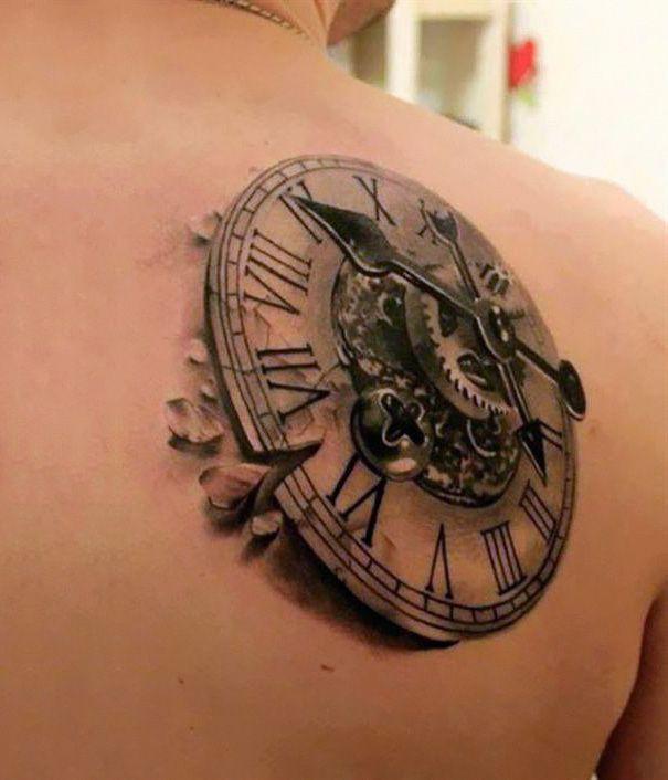 35 increíbles tatuajes en 3D que harán volar tu imaginación