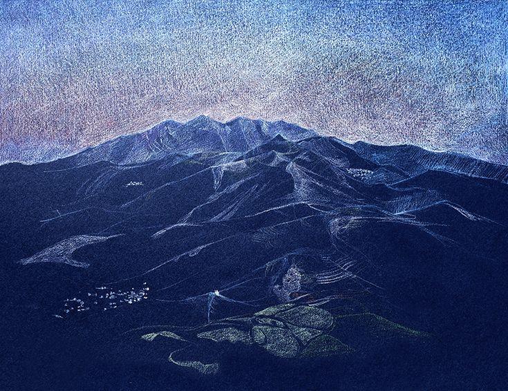 lever de soleil sur l montagne de Zeus | Prete moi tes yeux