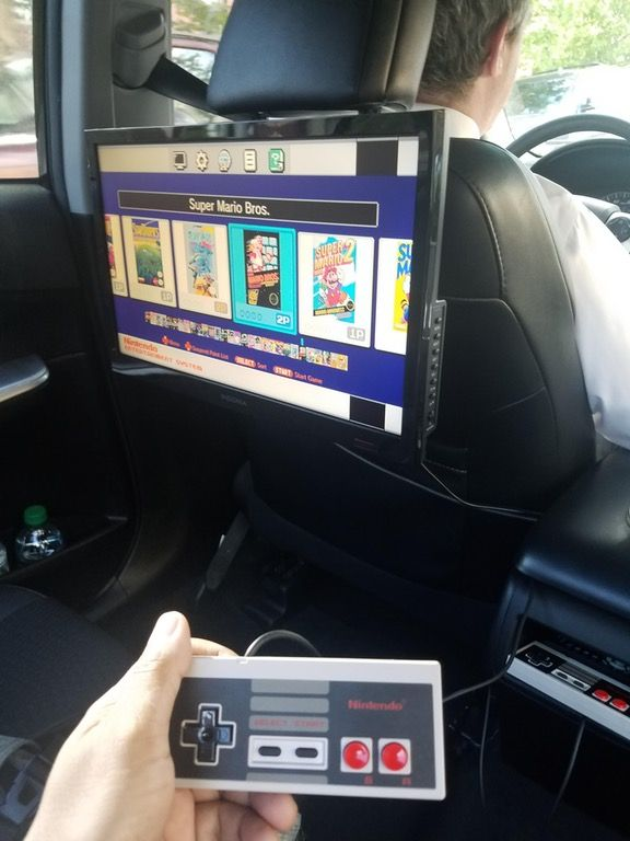 My uber ride this morning on my way to work. Kodus, Mr. Driver. : washingtondc