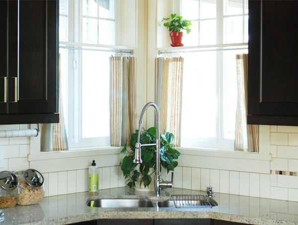 16 best corner sink with windows images on pinterest for Window up above