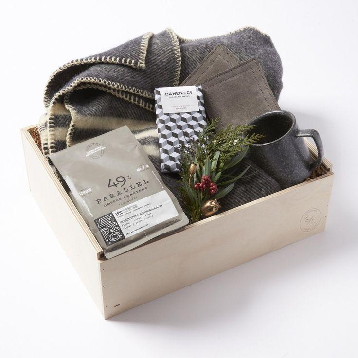 Good Tastes for Him Deluxe Gift Box by Simone LeBlanc