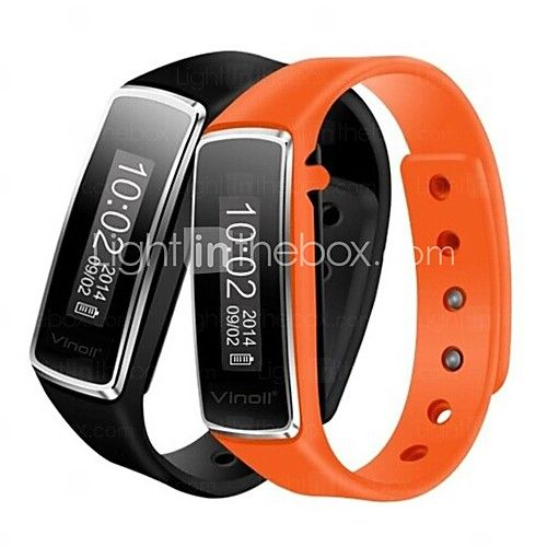 Activity Tracker Sport Smart watch Vinoil Wireless Bluetooth Smart Bracelet with Pedometer /Calorie Function - USD $19.99
