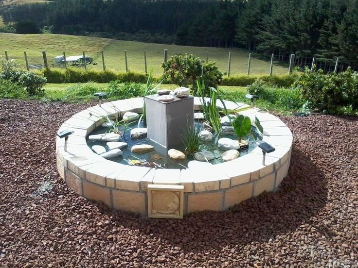 1000 images about water features on pinterest gardens for Outdoor pond tub