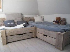Bed/lounge plek