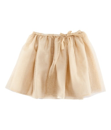 H flower girl tulle skirt - maybe with a leotard or shirt some kind of decoration