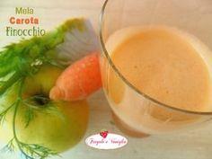 Problemi allo stomaco o di digestione?Succo Mela Carota e Finocchio ...niente di meglio di un gradevolissimo succo dalle molteplici proprietà digestive!
