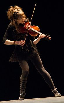My favorite modern violinist and very talented. I hope to one day be able to play half as good as she does.