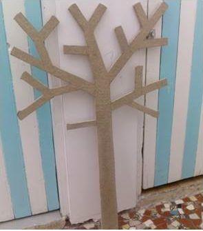 Comment faire un arbre à papier toilette ou PQtier oui, parce que c'est quand même 150€ dans le commerce !