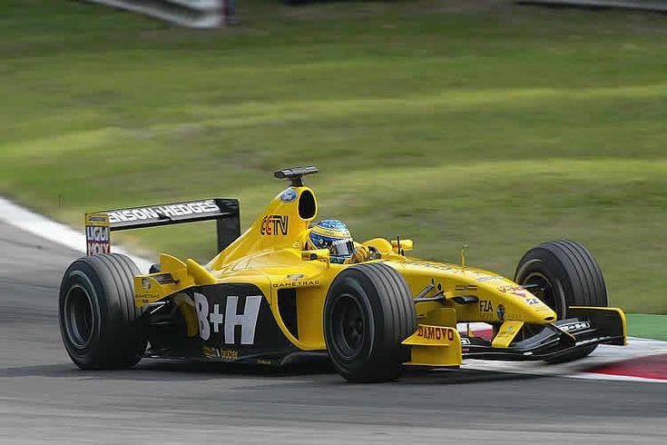 Zsolt Baumgartner - 2003 - Monza - Jordan EJ13