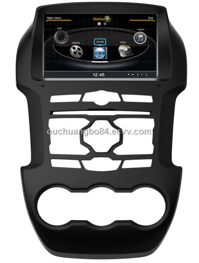 Ouchuangbo car dvd gps radio player for S100 Ford Ranger 2013-2014 (OCB-245) - China Ford Ranger dvd gps, Ouchuangbo