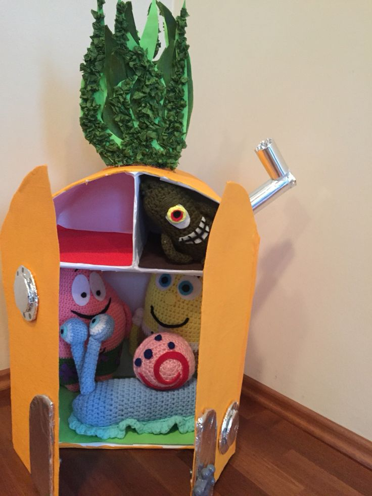 Spongebob with friends