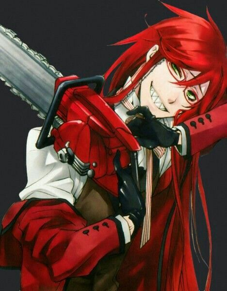 """I feel bad for people who never go crazy."" - Grell"
