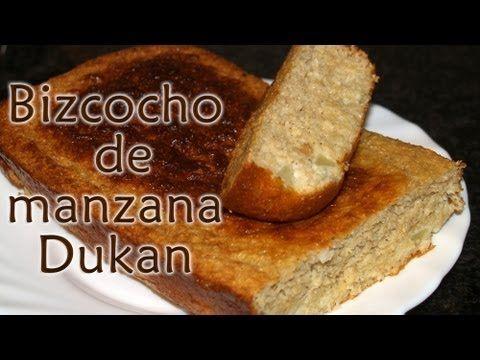 Bizcocho de manzana Dukan - Receta Fase Ataque