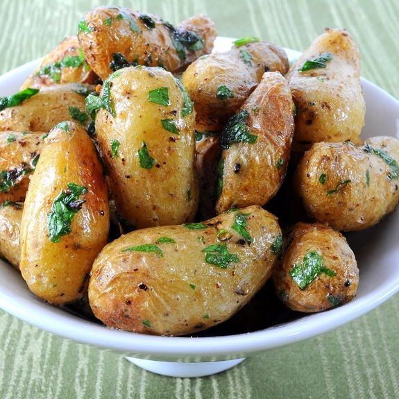 Olives, Roasted baby potatoes and Potato recipes on Pinterest
