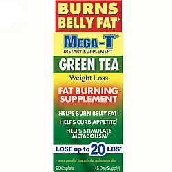 Mega Green Tea Belly Fat Burner | Mega T Green Tea belly Fat, mega t belly fat, Dietary Supplement side ...