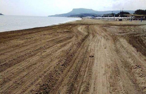 Παραλίες για «φίλημα» στο Ηράκλειο – Τις καθάρισε ο Δήμος (pics)
