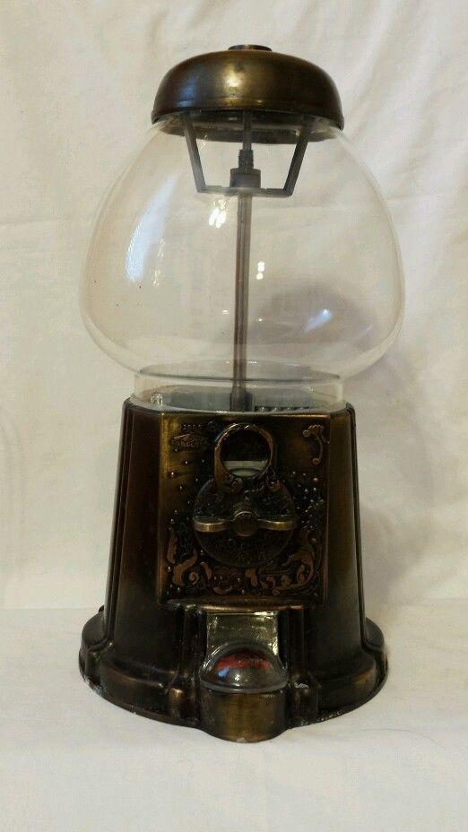Vintage 1985 Copper Carousel Gumball Machine Rare   eBay ...