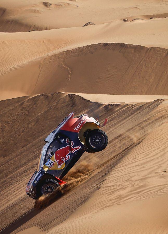 "therallyblog: "" Stéphane Peterhansel // Jean-Paul Cottret, Dakar Rally 2015 """