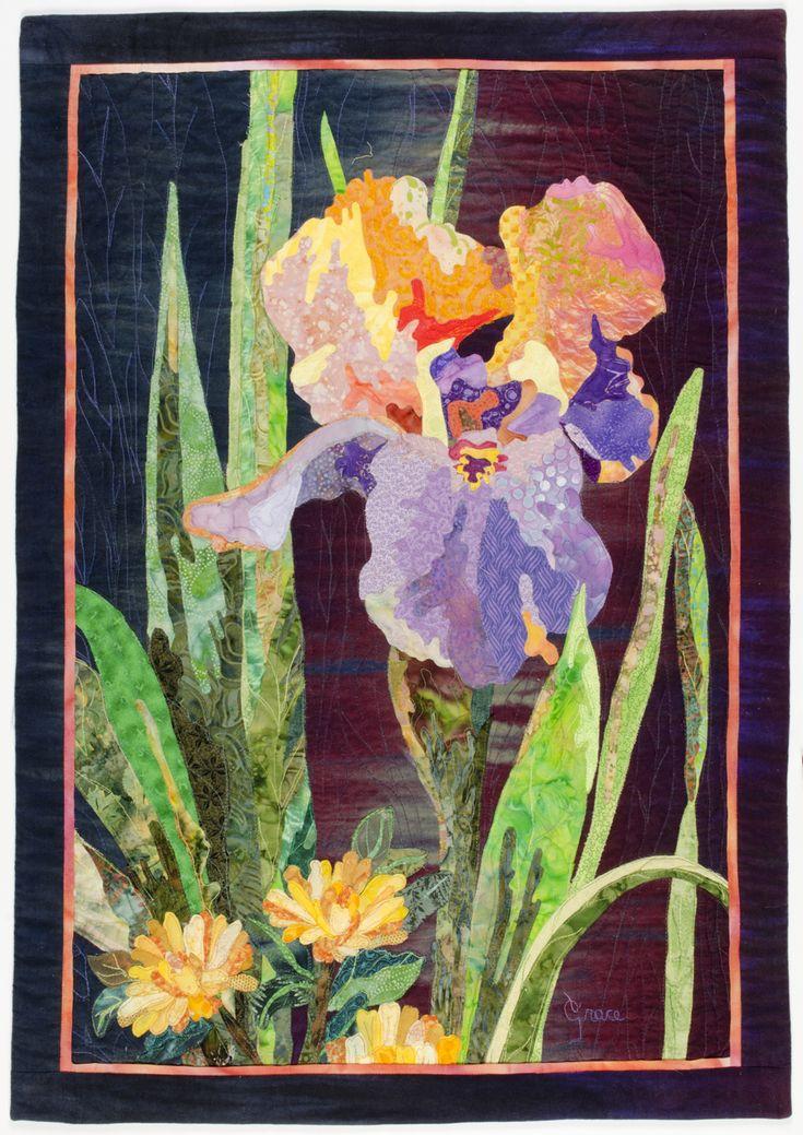 10 Best Images About Quilts Floral Art On Pinterest