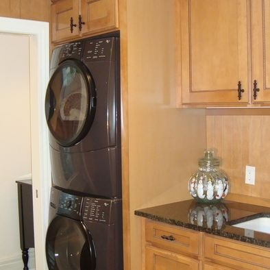 1000 images about stacking washer dryer on pinterest laundry room cabinets washers and cabinets - Kitchen storage ideas probably arent aware ...