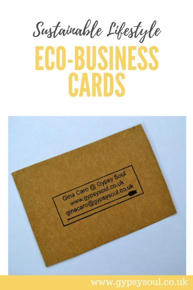 Pin On Eco Friendly Recycled Business Cards