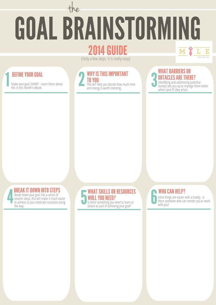 7 best goals images on Pinterest Free printable, Free printables