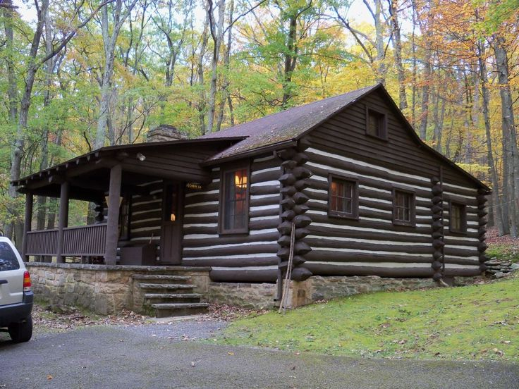 Lost River State Park Cabin Hardy Co Wv History State