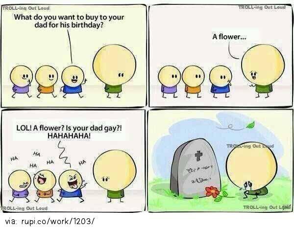 think before speak - Rupi - Social Comic Strip @rupidotco