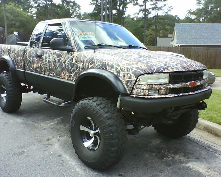 lifted chevy trucks camo - Google Search