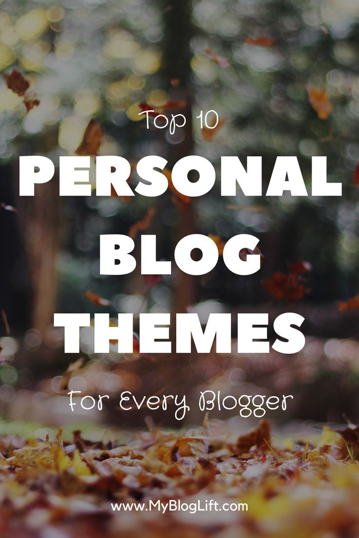 Your blog design plays an important role in the success of your website. Don't make silly mistakes and choose from these amazing WordPress themes for personal blogs.
