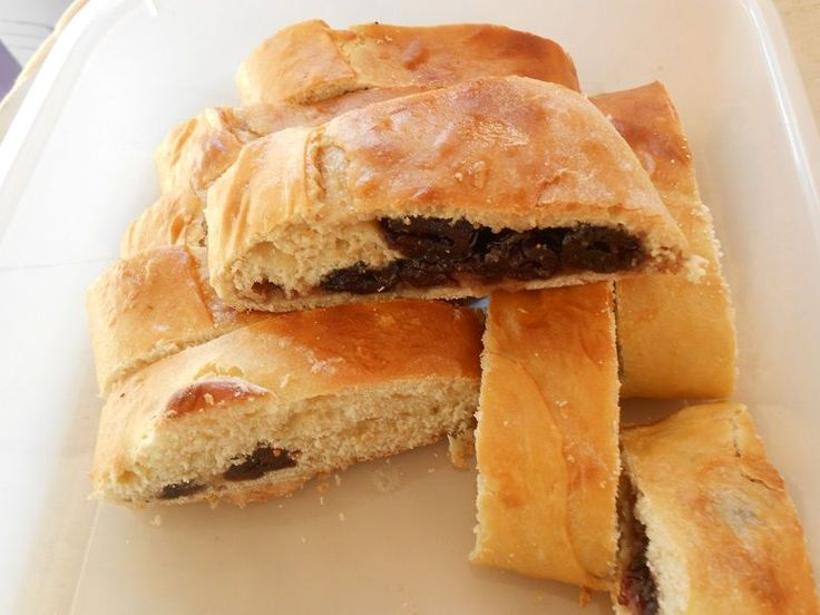 Γλυκό γεμιστό ψωμί - http://www.zannetcooks.com/recipe/glikogemistopsomi/