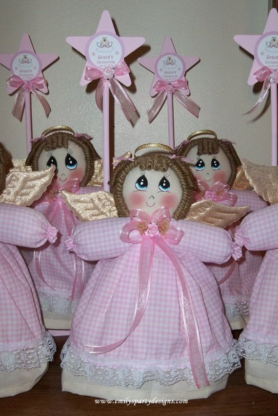 Adorable Angel Centerpieces by designsbyemilys on Etsy, $17.99