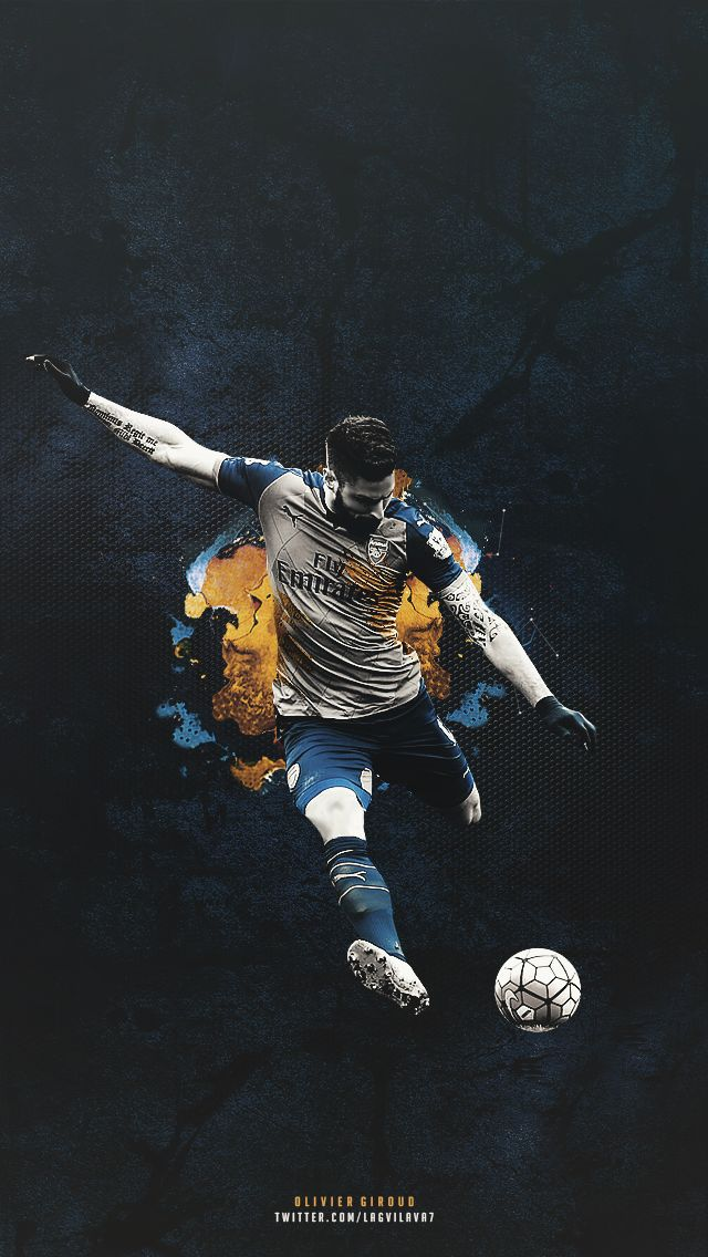 Olivier Giroud. Lock screen.