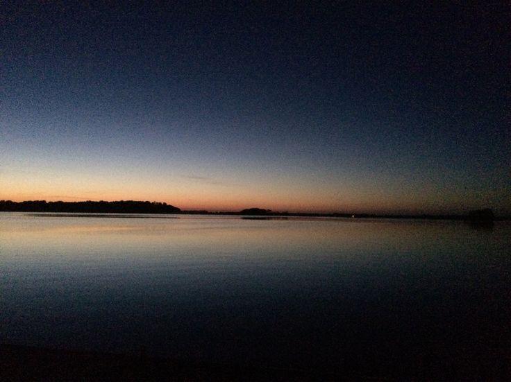 Wschód słońca Mazury