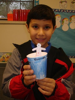 """Naaman - Lesson 6, There is only one God - The kids LOVED this craft. I also added some dark blue crepe paper inside of the cup that Naaman """"dipped"""" in to."""
