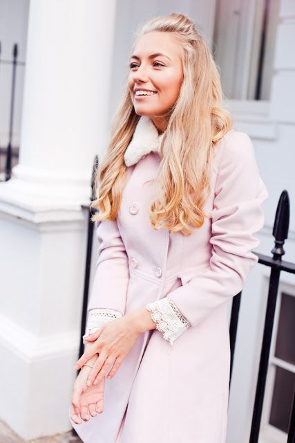 The perfect pink winter coat | Freddy My Love | Bloglovin'