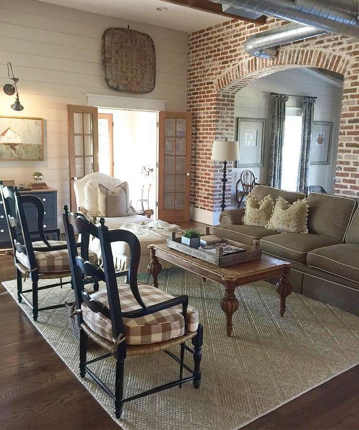 Family Room Decor Pinterest: 1000+ Ideas About Farmhouse Family Rooms On Pinterest